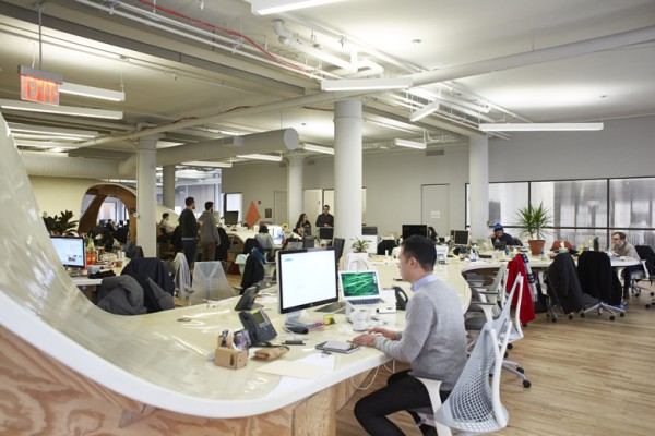 3006571_Superdesk_Clive_Wilkinson_Architects_1. Picture Maria Spann