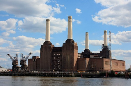 Battersea Power Station in London