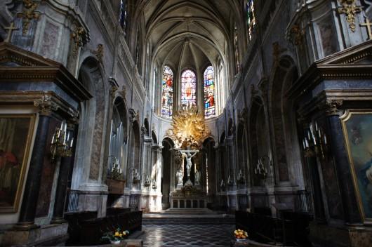 Church of Saint Merri in Paris, France. Image Courtesy of CC Flickr user barnyz