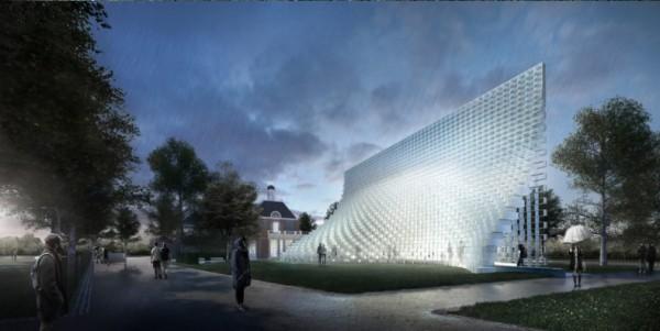 Serpentine Pavilion Designed by Bjarket Ingels Group. Picture serpentinegalleries.org