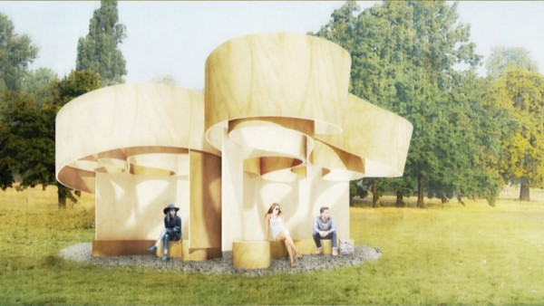 Serpentine Summer House 2016. Barkow Leibinger. Picture. serpentinegalleries.org