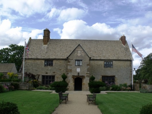 Sulgrave Manor in Sulgrave, United Kingdom. Image Courtesy of CC Flickr user Elliott Brown