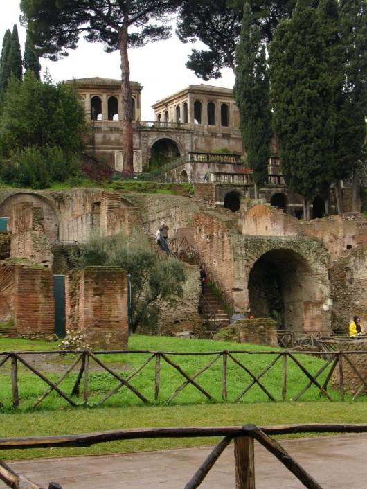 The Farnese Aviaries in Rome, Italy. Image Courtesy of CC Flickr user jaj
