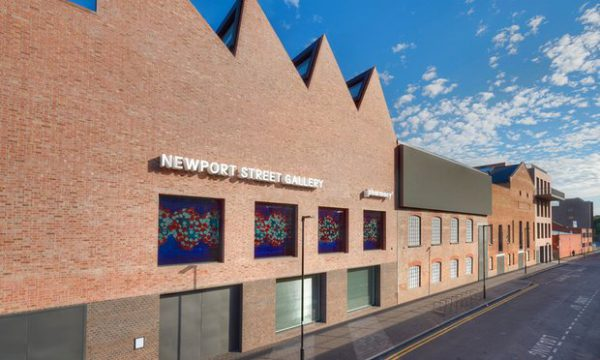 Tasteful terrace … Damien Hirst's Newport Street Gallery in Vauxhall shows he's grown up. Photograph: Prudence Cuming/NPSG