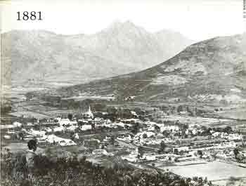 Oldest photo of Stellenbosch
