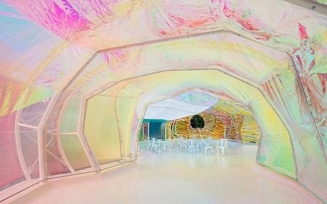 Serpentine Pavilion 2015 designed by selgascano MUST CREDIT: IWAN BAAN HANDOUT ....
